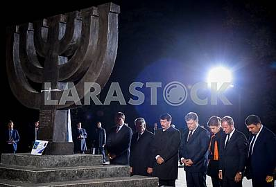 The ceremony of commemoration of the victims of Babi Yar