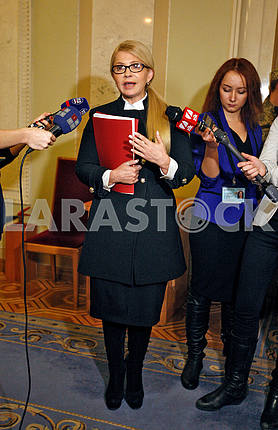 Yulia Tymoshenko, in growth