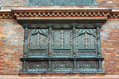 Beautiful carved window