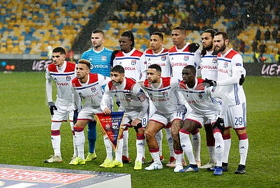 Lyon players