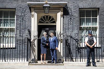 Vladimir Groisman and Theresa May