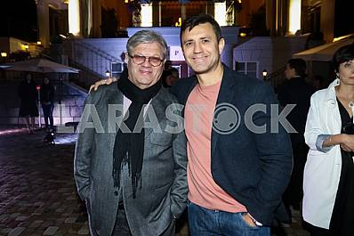 "Ilya November and Nikolay Tishchenko on the 10th anniversary of the magazine ""Focus"""