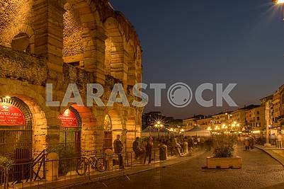 Arena di Verona in the evening