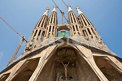 Construction redemptive Sagrada Familia