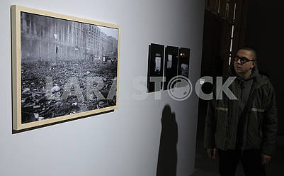 Photograph of the historical days of the Revolution of Dignity