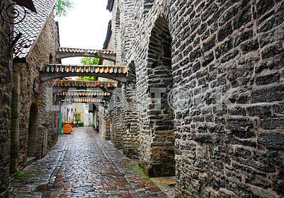 Walkway in Tallinn