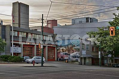 Photo firehouse Vancouver, Canada 23/07/2016