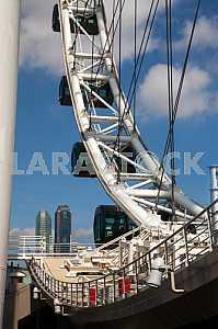 Singapore Ferris wheel day.