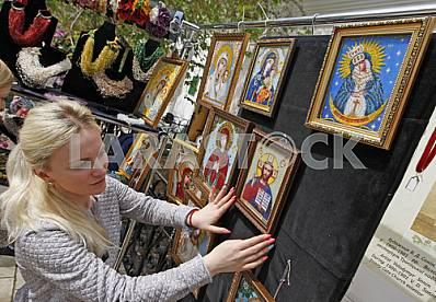 Easter exhibition at the Kiev Pechersk Lavra
