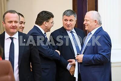 Semerak, Zhdanov, Avakov, Kubiv