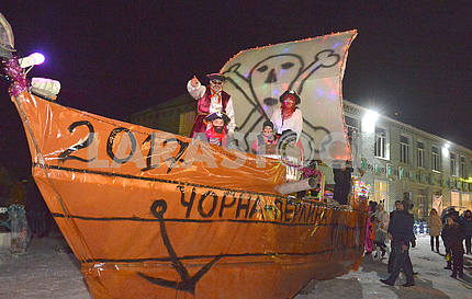 Malanka Festival, pirate ship