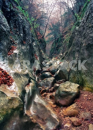 Gorge of the Grand Canyon of Crimea