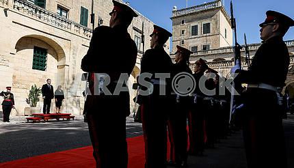 The Republic of Malta's Guard of Honor
