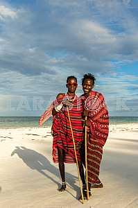 Zanzibar, posing Masai