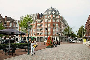 The Hague: city block