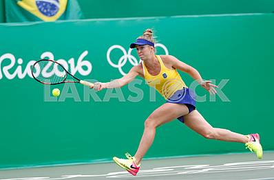 Elina Elina Svitolina in the Olympic Games in 2016