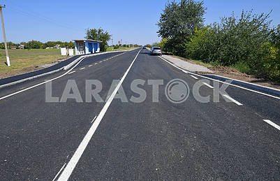 Renovated road Snigurivka - Kalynivka