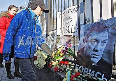 The anniversary of the murder of Boris Nemtsov.