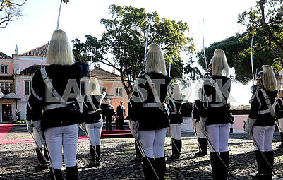 Honor Guard in Portugal