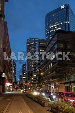 Hornby Street, Vancouver, Canada