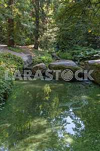 "The famous park ""Sofiyivka"""