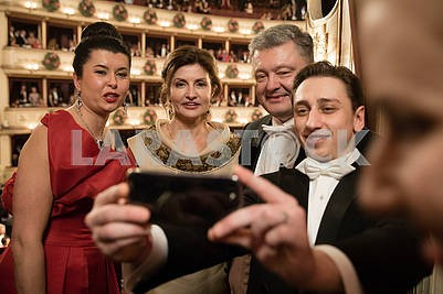 Peter and Marina Poroshenko at the Vienna Ball