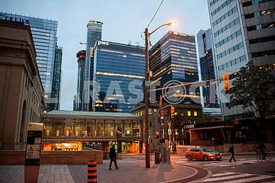 Evening Toronto