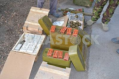 Separatists ammunition caches