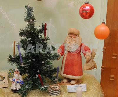 Santa Claus and balls
