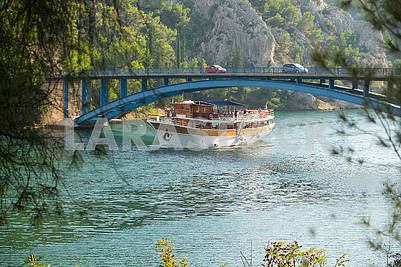 Bridge over the Krka river