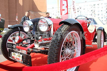 Exhibition of retro cars in the Dnieper