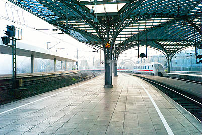 Railway station in Germany