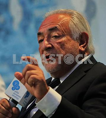 Dominique Strauss-Kahn at the 13th meeting of YES