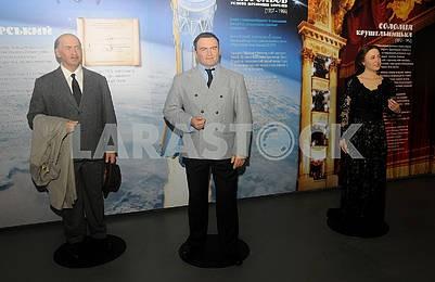 Figures by Igor Sikorsky, Sergey Korolev and Solomiya Krushelnitskaya