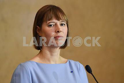 Kersti Kaliulaid President of Estonia