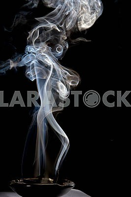 Photo of colorful smoke