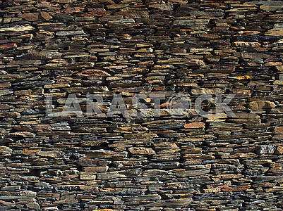 The wall of the barn in the Caucasus