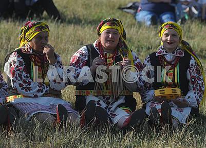 Celebration of Ivan Kupala in Pirogovo
