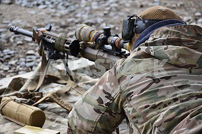 Snipers of the 8th Regiment of Special Operations Forces of the Armed Forces of Ukraine