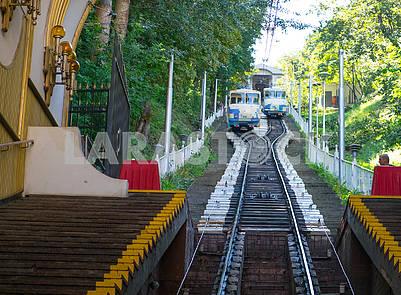 The Kiev funicular