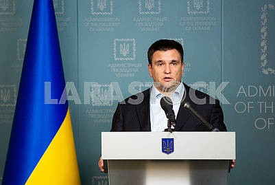 Meeting of the NSDC, Pavel Klimkin