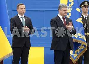 Petro Poroshenko and Andrzej Duda