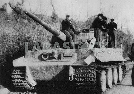 German heavy tank Tiger