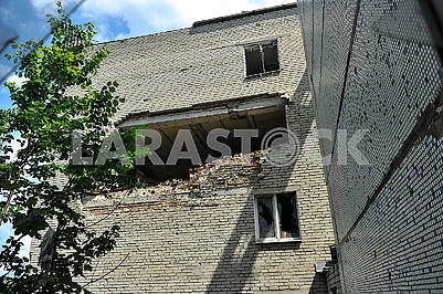 Consequences of the bombardment of Krasnogorovka