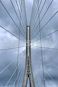 Bridge. view from below
