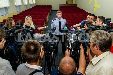 Presentation of the new police chief of the Transcarpathian region in Uzhgorod