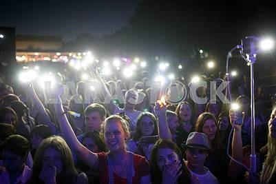 Fans at fest