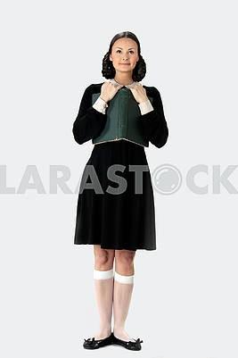 Lovely sexy schoolgirl