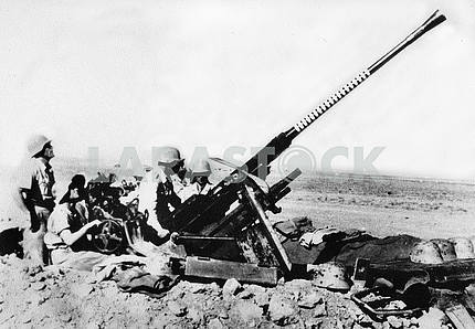 German anti-aircraft gun