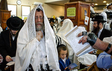 UKRAINE RELIGION JEWISH NEW YEAR